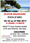 SEJOUR BALNEAIRE DE  JOURS A PLAYA D'ARO